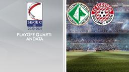 Avellino - Sudtirol. Playoff Quarti Andata