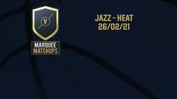 Jazz - Heat 26/02/21