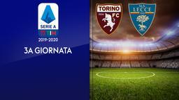 Torino - Lecce. 3a g.