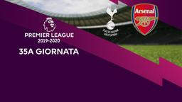 Tottenham - Arsenal. 35a g.