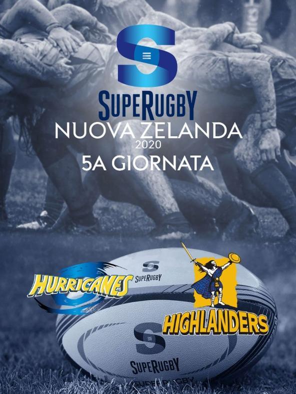 Rugby: Hurricanes - Highlanders