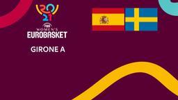 Spagna - Svezia. Girone A