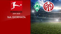 Werder Brema - Mainz. 16a g.