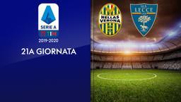 Verona - Lecce. 21a g.
