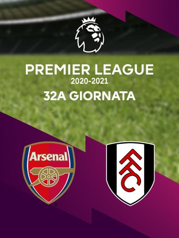 Arsenal - Fulham. 32a g.