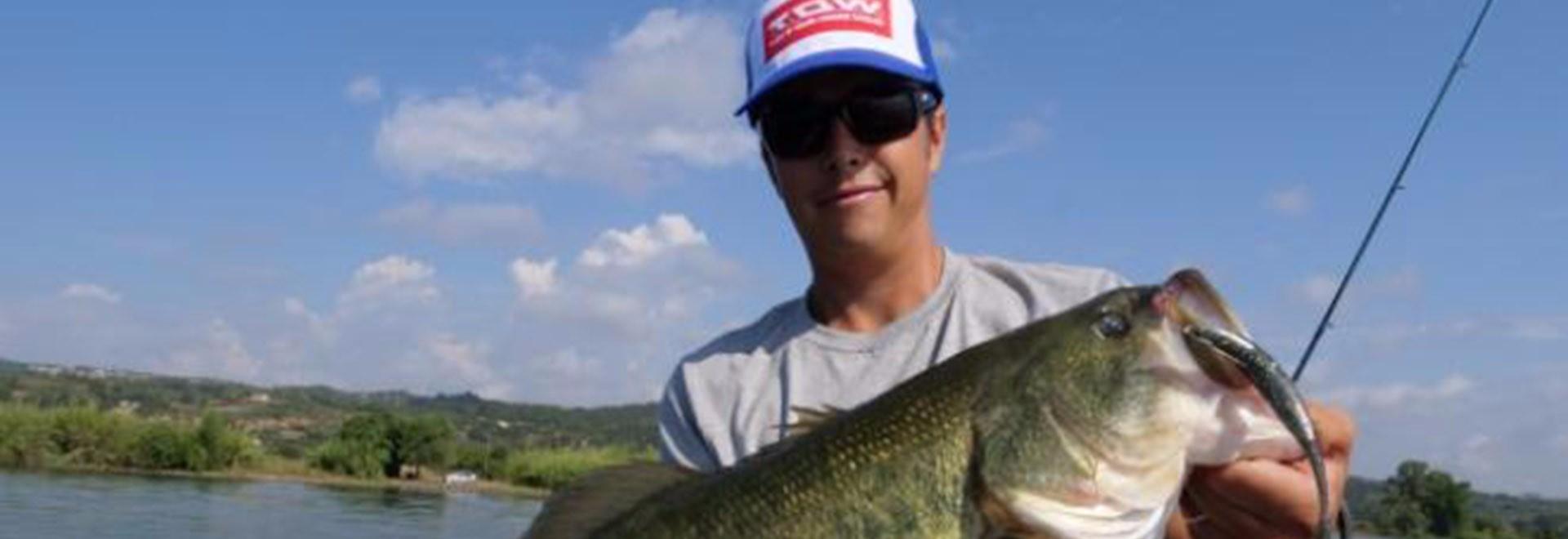 Black bass d'estate sul lago di Bolsena. 2a parte