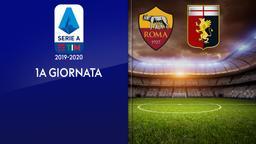 Roma - Genoa. 1a g.