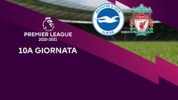 Brighton & Hove Albion - Liverpool. 10a g.
