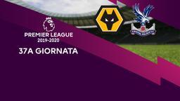 Wolverhampton - Crystal Palace. 37a g.