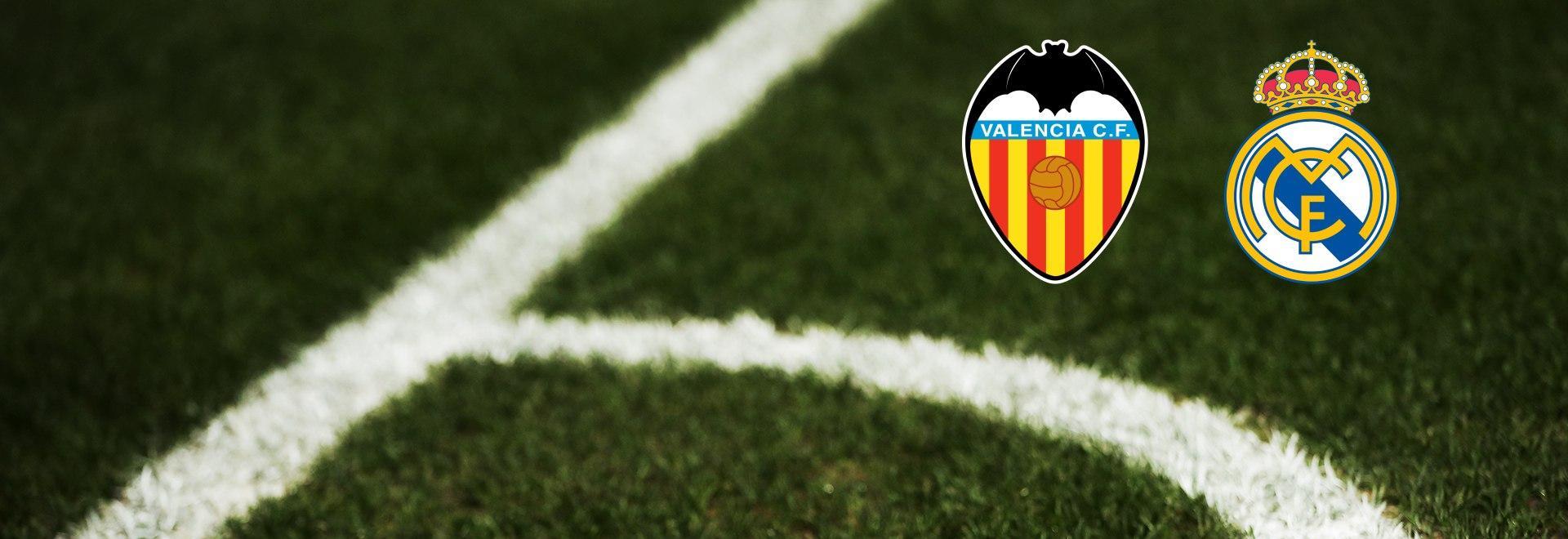 Valencia - Real Madrid. 17a g.