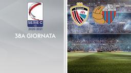 Foggia - Catania. 38a g.