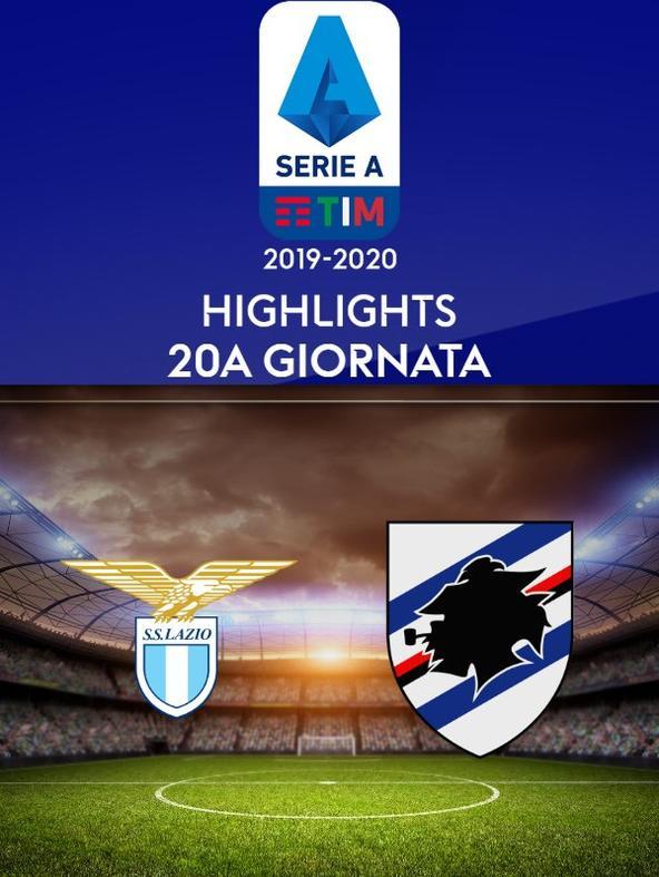 Lazio - Sampdoria. 20a g.