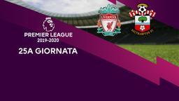 Liverpool - Southampton. 25a g.