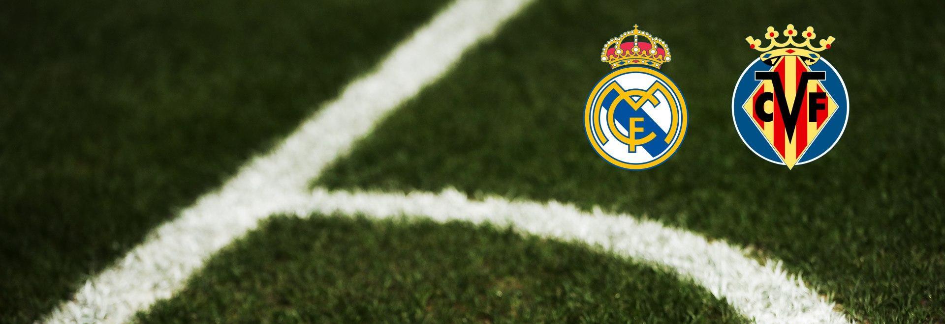 Real Madrid - Villarreal. 37a g.