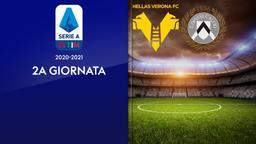 Verona - Udinese. 2a g.