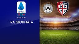 Udinese - Cagliari. 17a g.