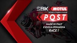 Made in Italy e Emilia Romagna Race 1