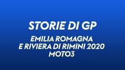 Emilia Romagna e Riviera di Rimini 2020. Moto3