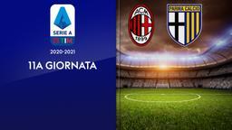 Milan - Parma. 11a g.