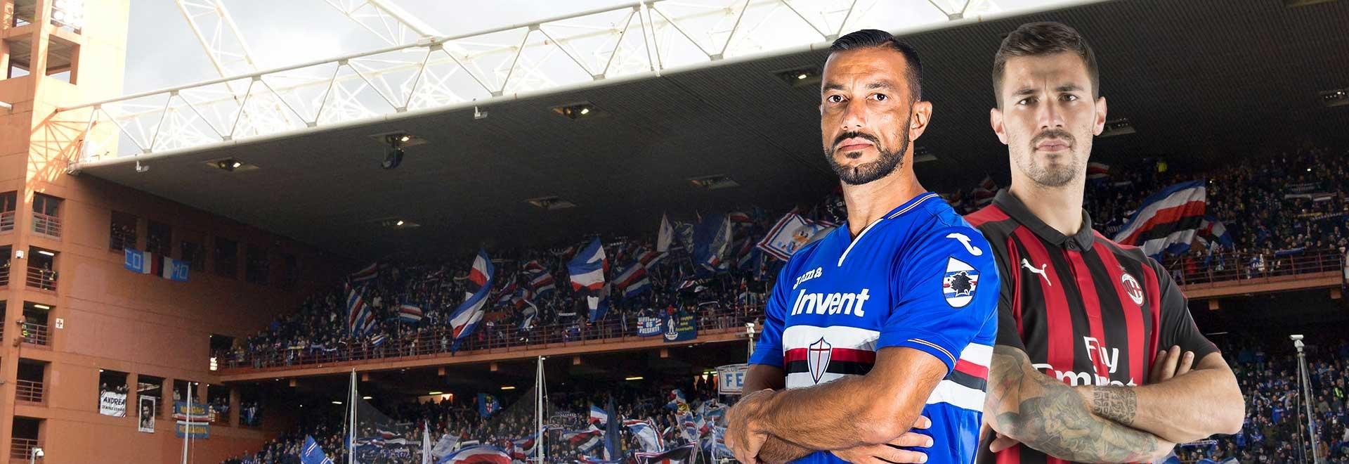 Sampdoria - Milan. 29a g.