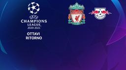 Liverpool - Lipsia. Ottavi Ritorno