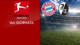 Bayern Monaco - Friburgo. 16a g.