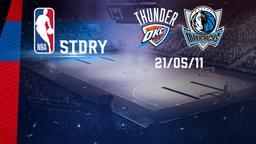 Oklahoma City - Dallas 21/05/11. Playoff Conference Final Gara 3