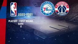 Philadelphia - Washington. Playoff - First Round. Gara 2