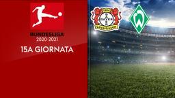 Bayer Leverkusen - Werder Brema. 15a g.