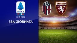 Bologna - Torino. 38a g.
