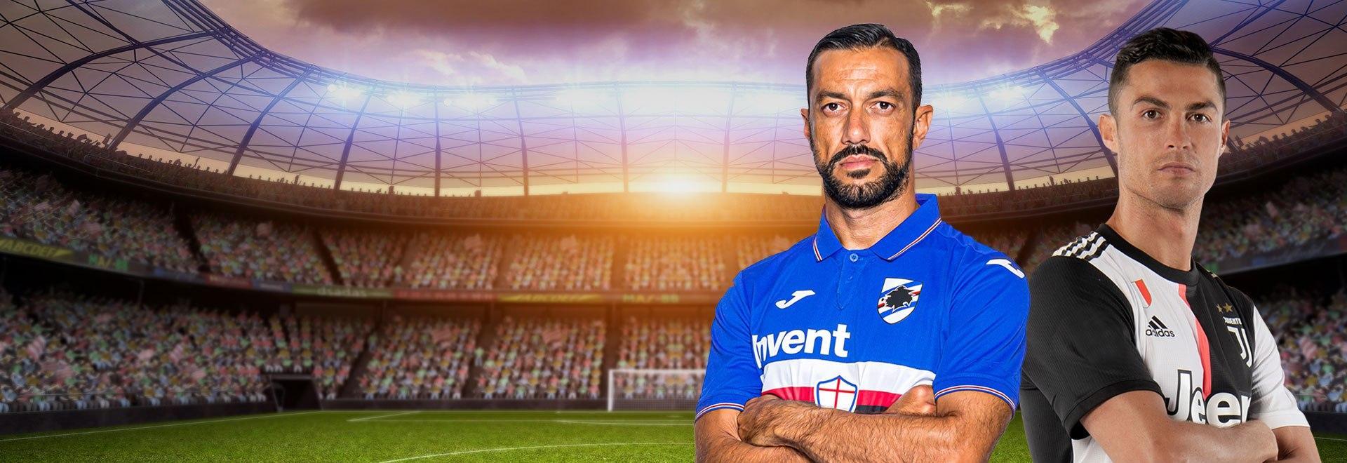 Sampdoria - Juventus. 17a g.