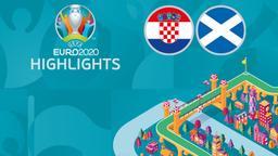 Croazia - Scozia. 3a g. Gruppo D