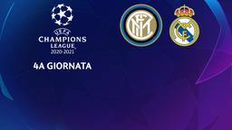 Inter - Real Madrid. 4a g.