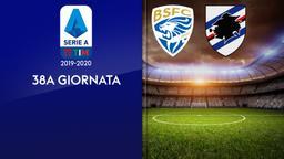 Brescia - Sampdoria. 38a g.