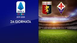 Genoa - Fiorentina. 2a g.