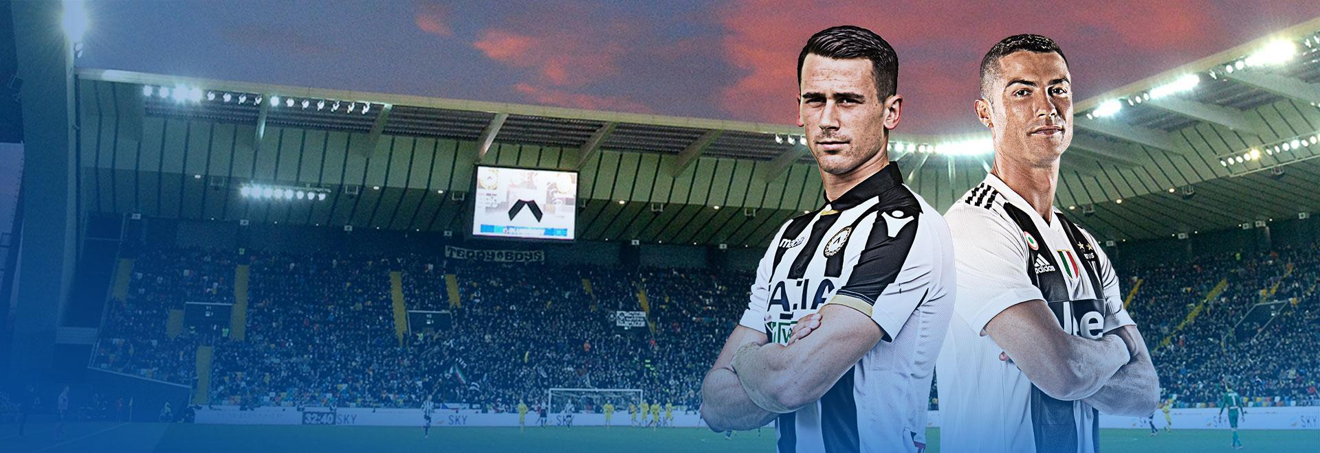 Udinese - Juventus. 8a g.