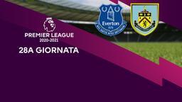 Everton - Burnley. 28a g.
