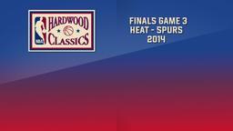 Heat - Spurs 2014. Finals Game 3