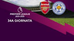 Arsenal - Leicester City. 34a g.