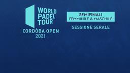 Cordòba Open: Semifinali F/M Sessione serale