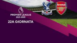 Crystal Palace - Arsenal. 22a g.