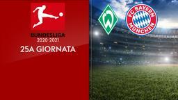 Werder Brema - Bayern Monaco. 25a g.