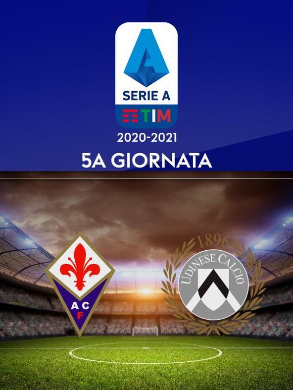 Fiorentina - Udinese. 5a g.