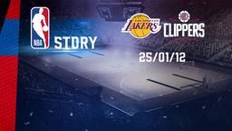 LA Lakers - LA Clippers 25/01/12