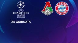 Lokomotiv Mosca - Bayern Monaco. 2a g.