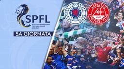 Rangers - Aberdeen. 2a fase 5a g.