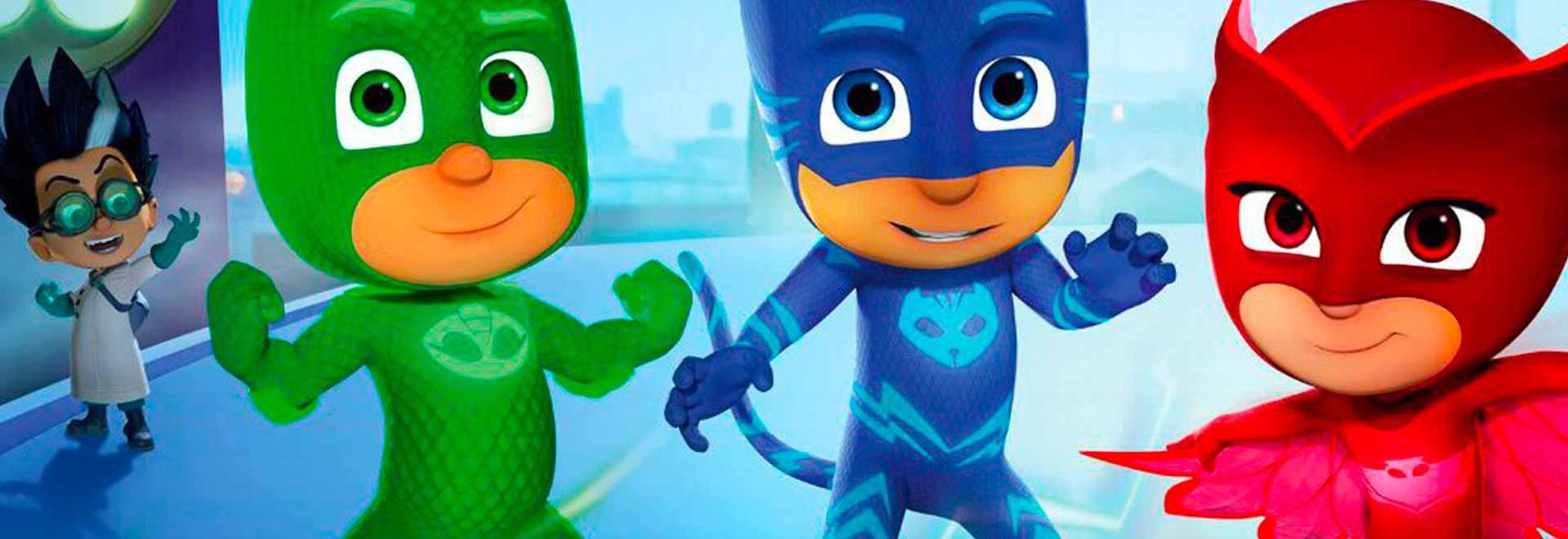 Geco e i super mini-ninja / Gufetta e il terribile pterodattilo