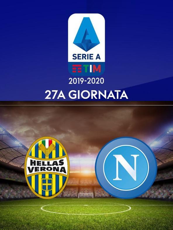 Verona - Napoli. 27a g.
