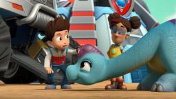 Dino Soccorso: i cuccioli salvano un dinosauro dolorante / Dino Soccorso: i cuccioli salvano la corsa del triceratopo