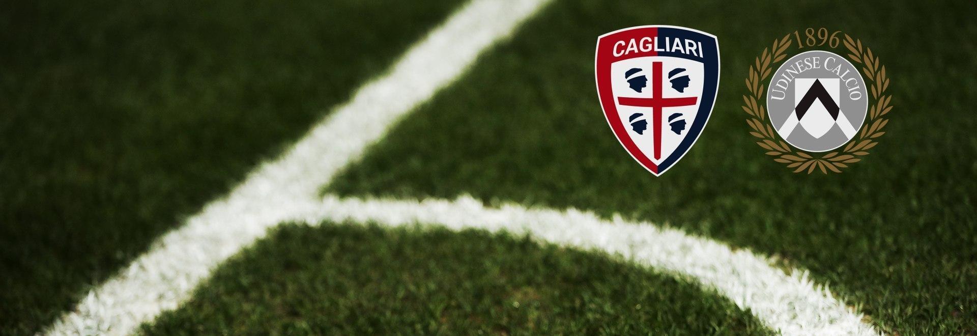 Cagliari - Udinese. 36a g.